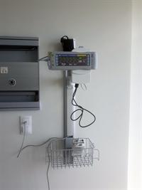 Палата пробуждения, монитор пациента