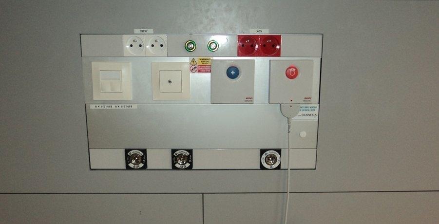 Медицинская настенная панель DN3Z