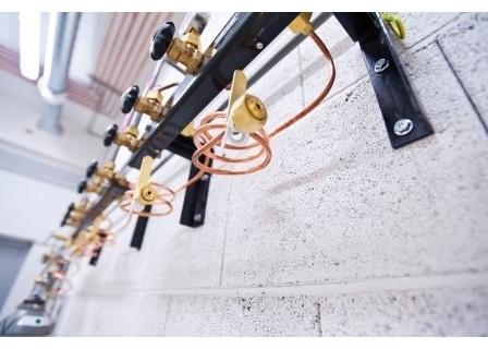 Рампы для газовых баллонов высокого давления