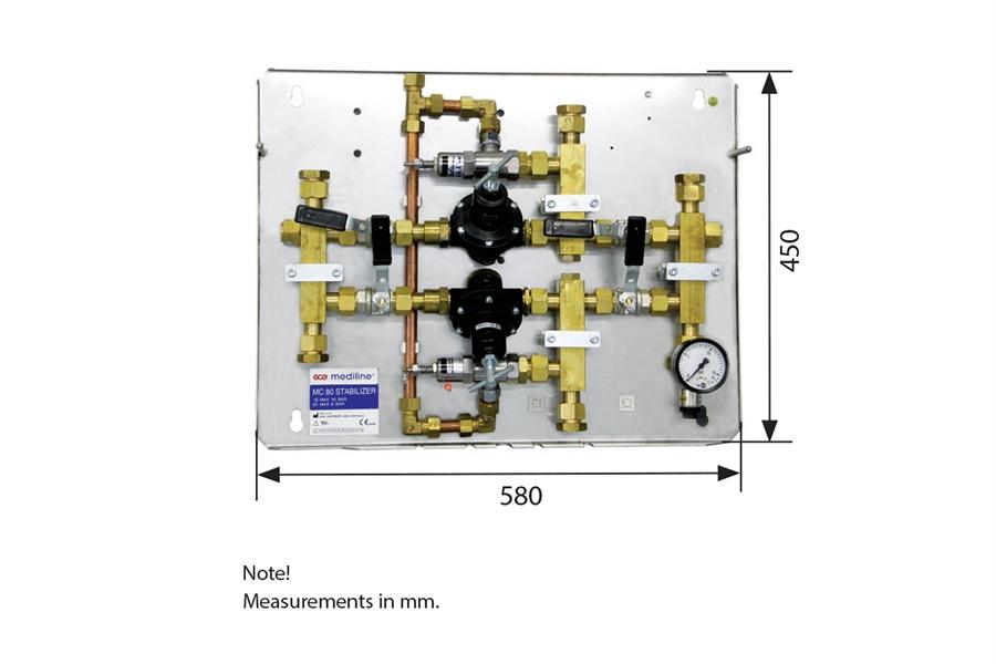 Стабилизатор рампы GCE MC80