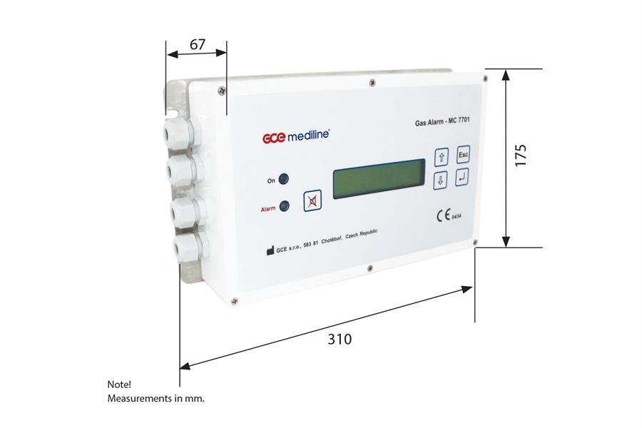 Сигнальный блок GCE MC7701
