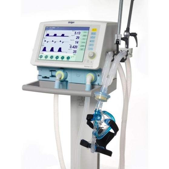 """Аппарат искусственной вентиляции легких, аппарат ИВЛ """"SAVINA 300"""" Dräger"""