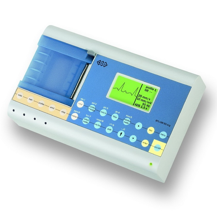 Электрокардиограф 1-, 3- и 6-канальный, ЭКГ BTL-08 S