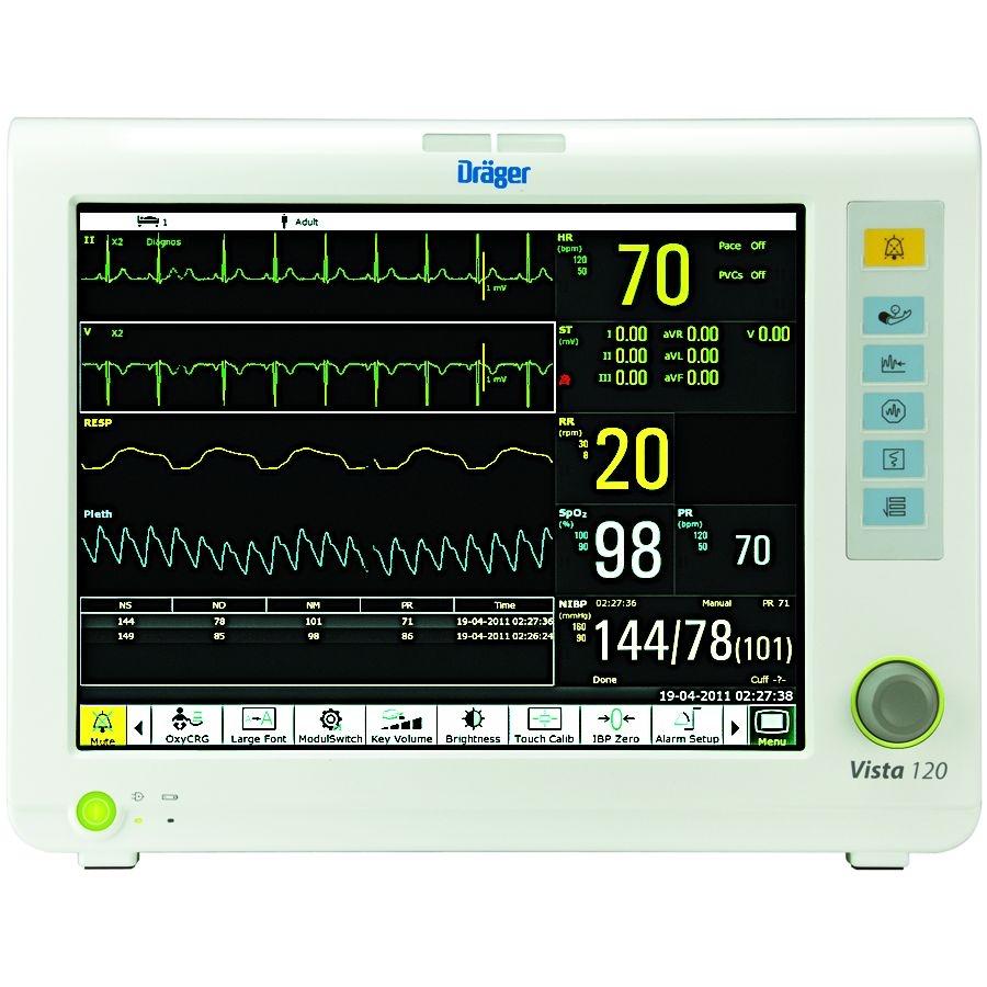 Универсальный модульный монитор пациента Draeger VISTA 120