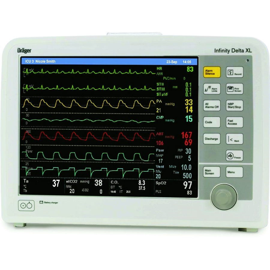"""Универсальный модульный монитор пациента Draeger Infinity® Delta XL с модулем Draeger Infinity """"BISx SmartPod"""""""