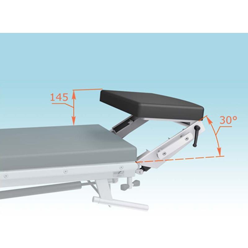 Комплект КПП-21 для позиционирования головы с двумя наклонами и приводом. (МЕДИН)