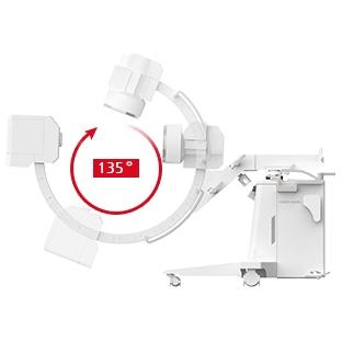Мобильная флюороскопическая рентген-хирургическая установка КМС-650 на штативе типа С-дуга (COMED)