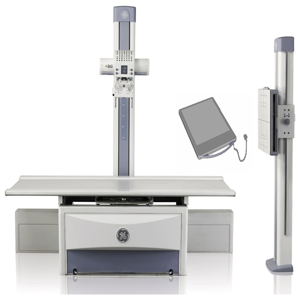 Цифровой рентгеновский аппарат на 2 рабочих места Brivo DR-F (GE Healthcare)