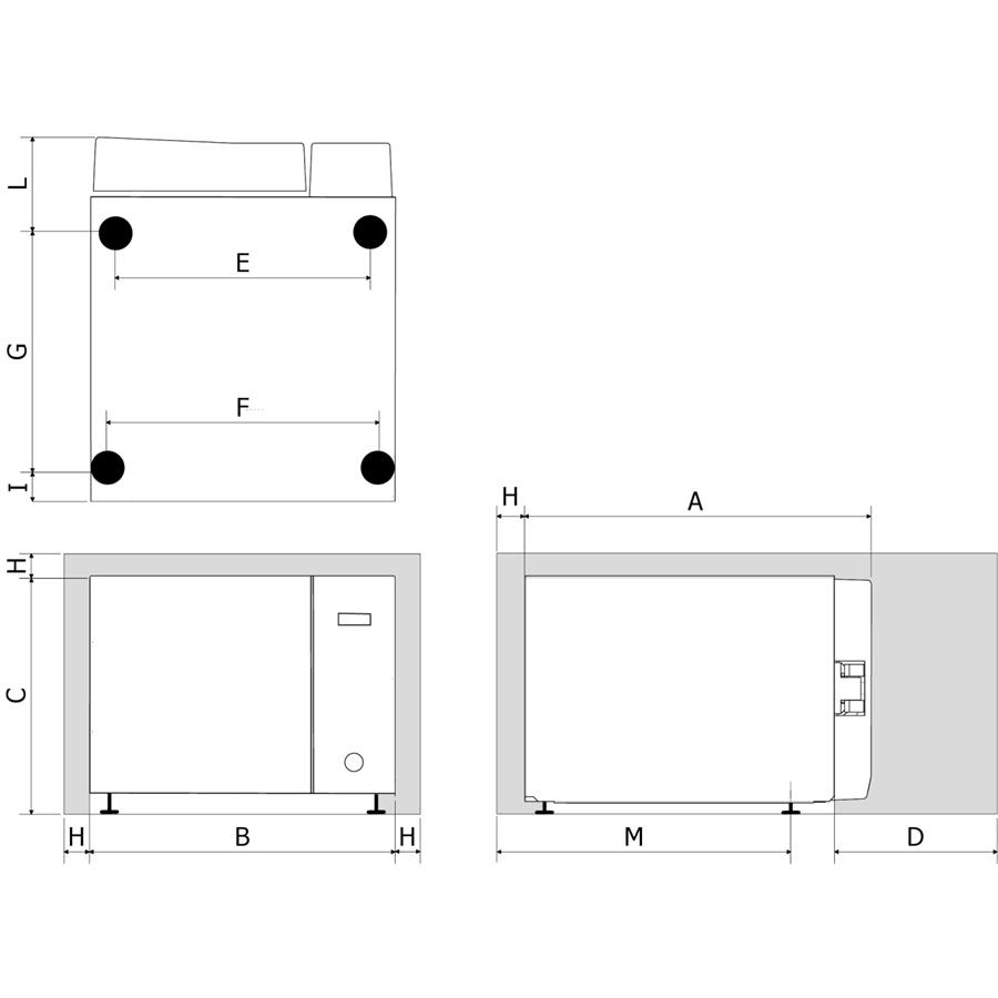 Полуавтоматический паровой стерилизатор Hydra EVO Plus (TECNO-GAZ)