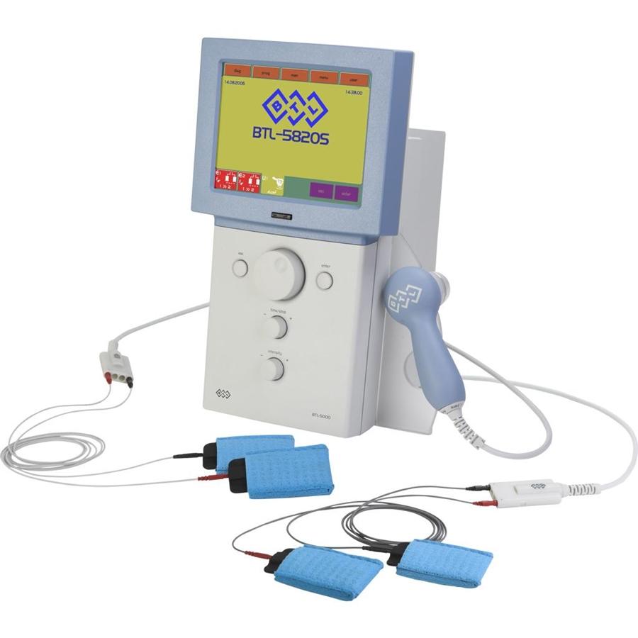 Электротерапия + ультразвук Физиотерапевтический комбайн BTL - 5820S Combi