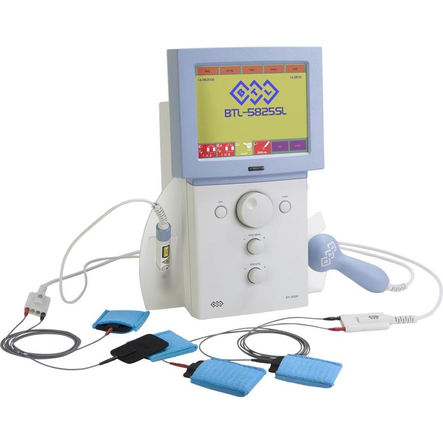Электротерапия + ультразвук + лазер Физиотерапевтический комбайн BTL- 5825SL Combi
