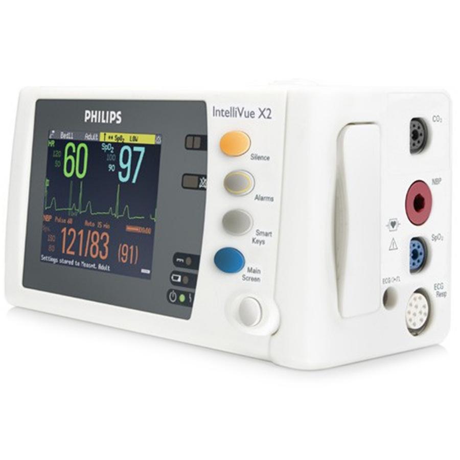 Измерительный модуль и монитор пациента IntelliVue MMS X2 (Philips Healthcare)