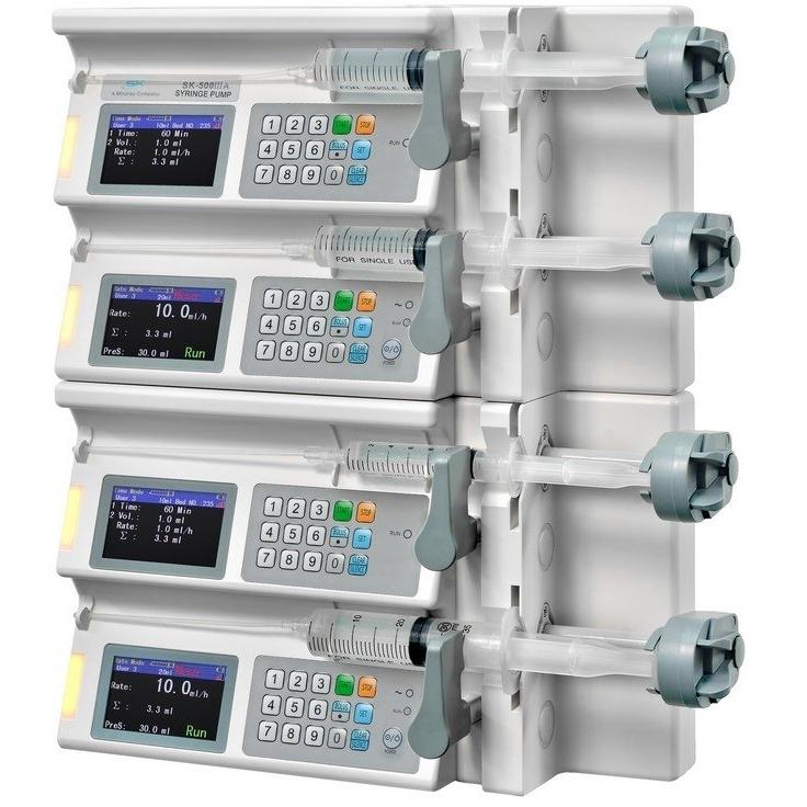 Многоканальные шприцевые насосы серии SK-500 III/ IIIA /IIIB/ IIIC (Mindray)