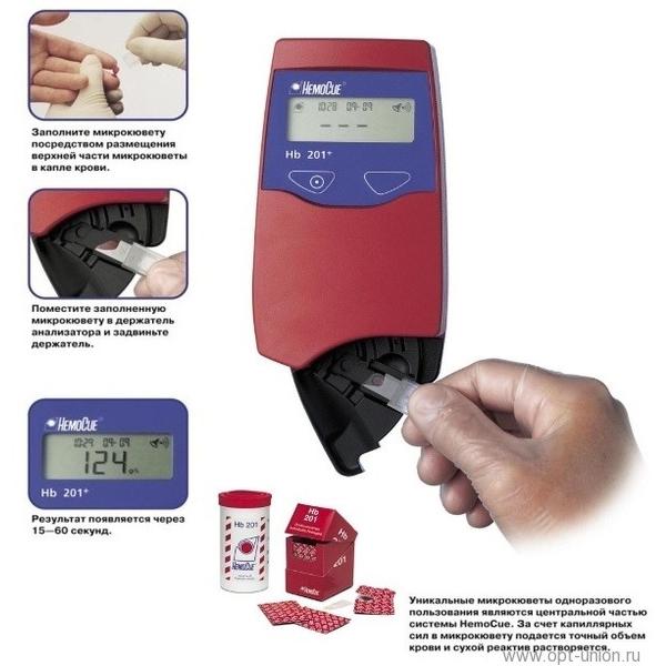 Анализатор глюкозы Glucose 201+ (HemoCue)