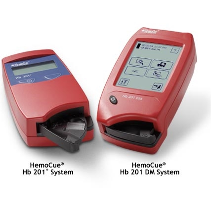 Анализатор гемоглобина Hb 201 DM (HemoCue AB)