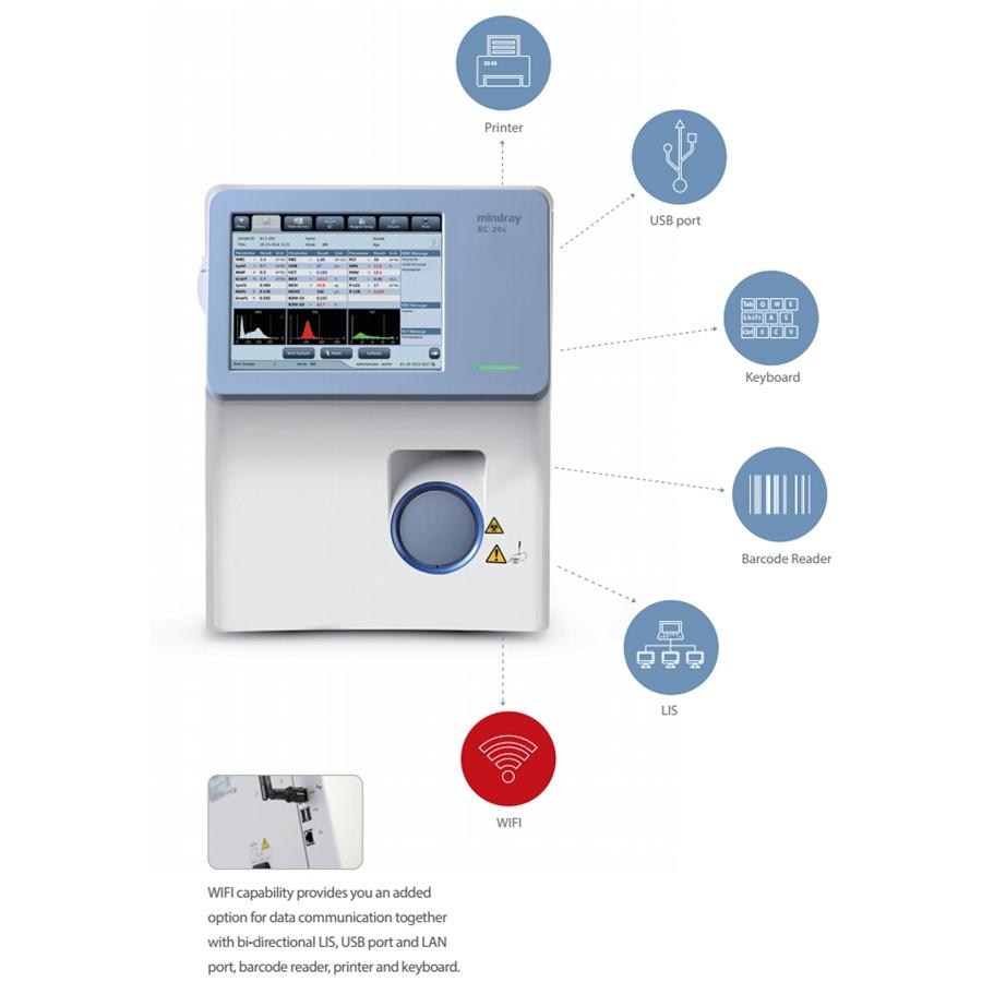 Автоматический гематологический анализатор BC-20S (Mindray)