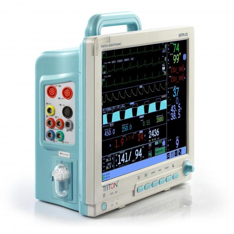 Монитор анестезиологический МПР 6-03 дисплей 15'' Базовая комплектация (Triton)