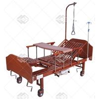 Кровать механическая Med-Mos YG-5 (ММ-5124Н-01) с боковым переворачиванием, туалетным устройством и функцией «кардиокресло»