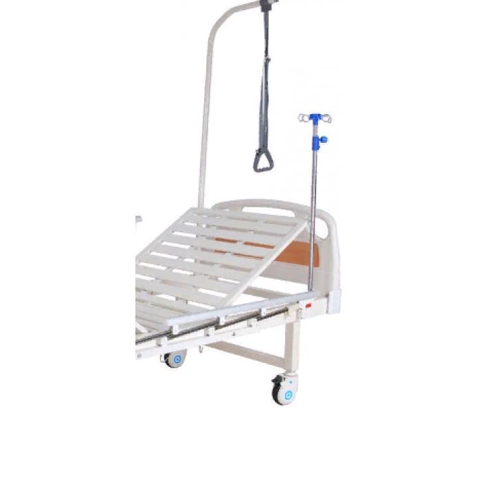 Кровать механическая Med-Mos Е-8 (ММ-2014Н-00) (2 функции) с полкой и столиком