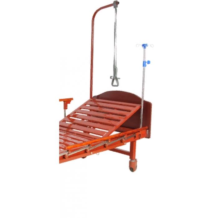 Кровать механическая Med-Mos (1 функция) E-17B (ММ-1024Н-00) ЛДСП