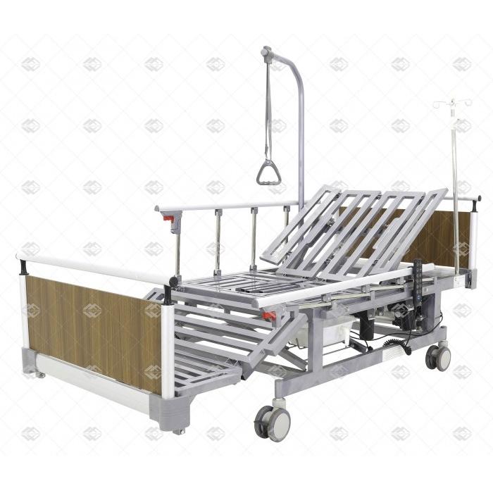 Кровать электрическая Мед-Мос DB-11А (МЕ-5248Н-00, МЕ-5248Н-01) с боковым переворачиванием, туалетным устройством и функцией «кардиокресло»