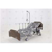 Кровать электрическая Мед-Мос DB-11А (МЕ-5228Н-01) ЛДСП Венге с боковым переворачиванием, туалетным устройством и функцией «кардиокресло»