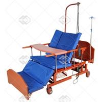 Кровать электрическая Med-Mos DB-11А (МЕ-5228Н-00) с боковым переворачиванием, туалетным устройством и функцией «кардиокресло»